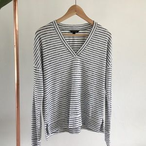 Banana Republic long sleeve striped S
